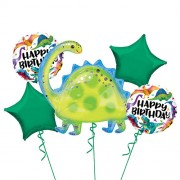 Dinosaur Balloon Bouquet - 5τμχ.