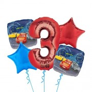 Cars Balloon Bouquet - 5τμχ.