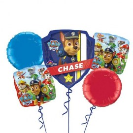 Paw Patrol Balloon Bouquet - 5τμχ.