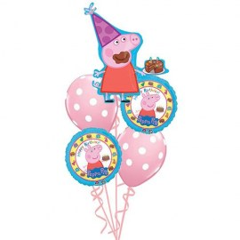 Peppa Pig Balloon Bouquet - 5τμχ.