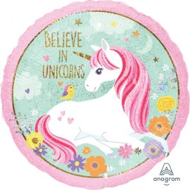 Μπαλόνι Foil Belive in Unicorns