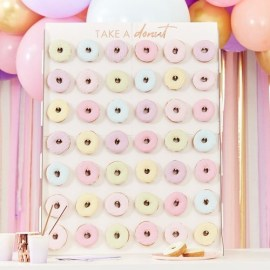 Giant Donut Wall