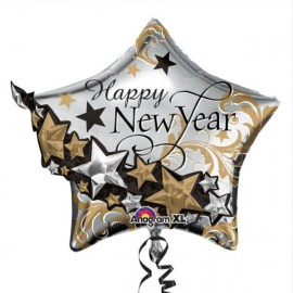 Happy New Year Μπαλόνι foil 27''