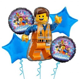 Lego Movie Balloon Kit - 5τμχ.