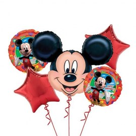 Mickey Mouse Balloon Kit - 5τμχ.