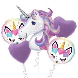 Magic Unicorn Balloon Kit - 5τμχ.