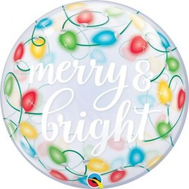 Μπαλόνι Bubble Merry & Bright