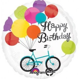 Μπαλόνι Foil Birthday Bike 28''