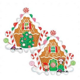 Μπαλόνι foil Gingerbread House 30''