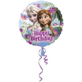 Μπαλόνι Foil Frozen II Happy Birthday