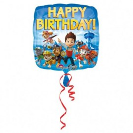 Μπαλόνι Foil Happy Birthday Paw Patrol 18''