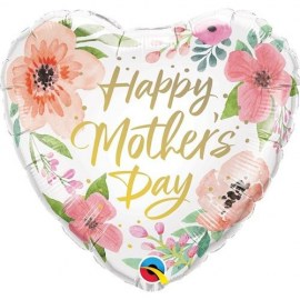 Μπαλόνι foil Happy Mother's Day Floral 18''