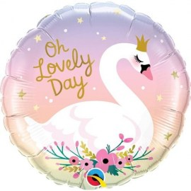 Μπαλόνι Foil Oh Lovely Day Swan 18''