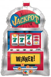 Μπαλόνι foil Slot Machine Jackpot 29''