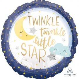Μπαλόνι foil Twinkle Little Star 18''