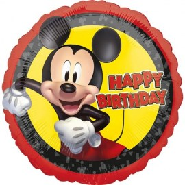 Μπαλόνι Happy Birthday Mickey