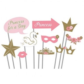 Photo Props Princess for a Day - 10τμχ.