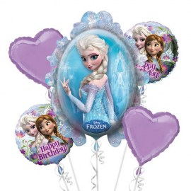 Έλσα Frozen Balloon Kit - 5τμχ.