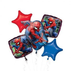 Spiderman Balloon Kit - 5τμχ.